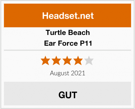Turtle Beach Ear Force P11 Test