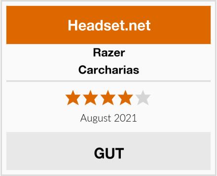 Razer Carcharias Test