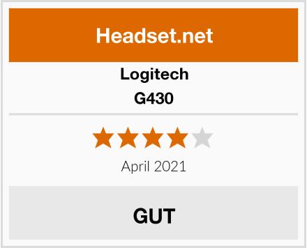 Logitech G430 Test