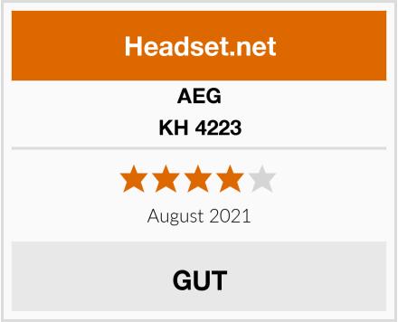 AEG KH 4223 Test