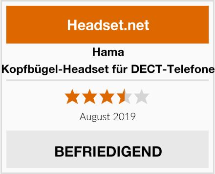 Hama Kopfbügel-Headset für DECT-Telefone Test