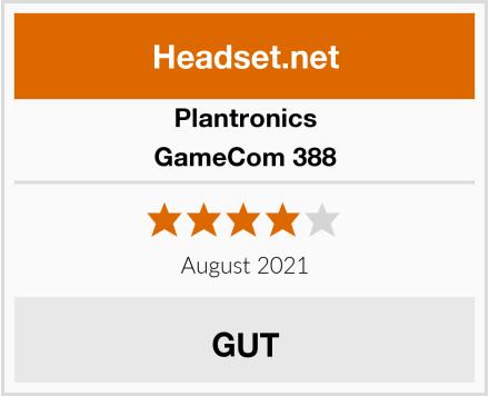 Plantronics GameCom 388 Test