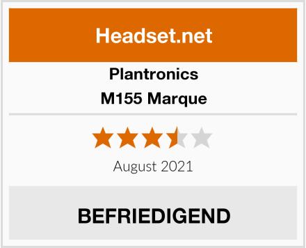 Plantronics M155 Marque Test