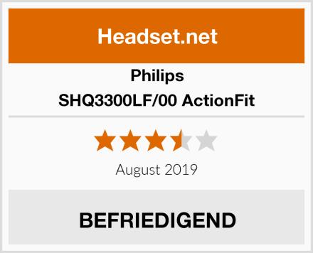 Philips SHQ3300LF/00 ActionFit Test