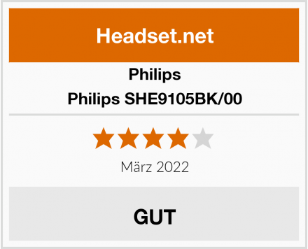 Philips Philips SHE9105BK/00 Test