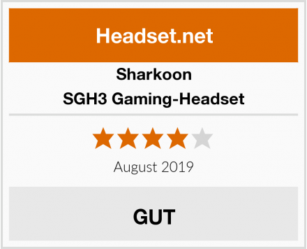 Sharkoon SGH3 Gaming-Headset Test