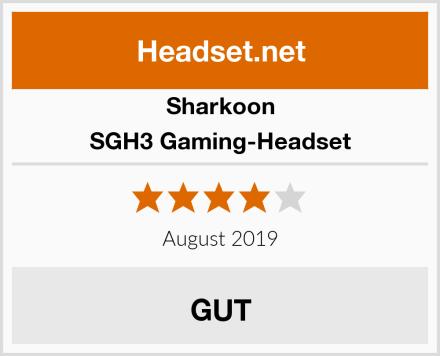 Sharkoon SGH3 Gaming-Headset Test