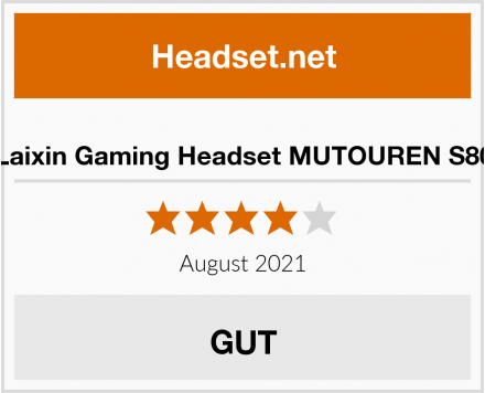 Laixin Gaming Headset MUTOUREN S80 Test