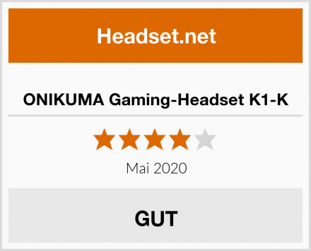 ONIKUMA Gaming-Headset K1-K Test