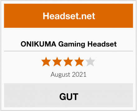 No Name ONIKUMA Gaming Headset Test