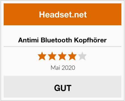 Antimi Bluetooth Kopfhörer Test