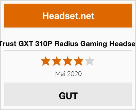 No-Name Trust GXT 310P Radius Gaming Headset Test