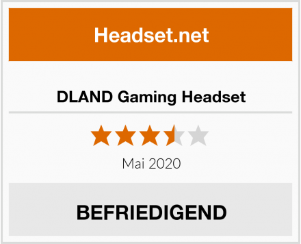 DLAND Gaming Headset Test
