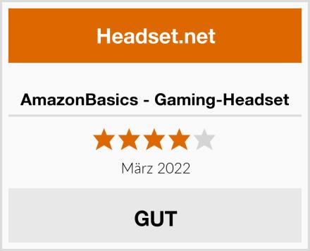 AmazonBasics - Gaming-Headset Test