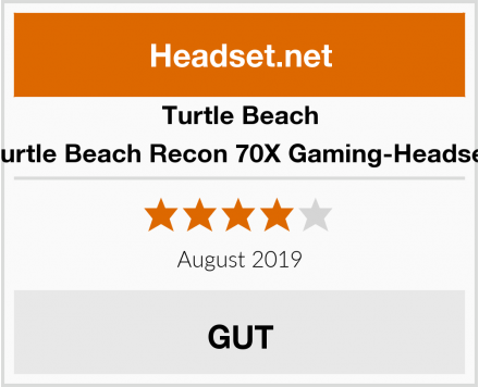 Turtle Beach Turtle Beach Recon 70X Gaming-Headset Test
