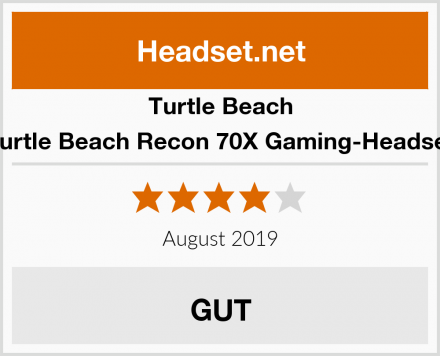 Turtle Beach Turtle Beach Recon 70X Gaming-Headset Test