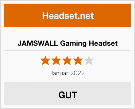 No-Name JAMSWALL Gaming Headset Test