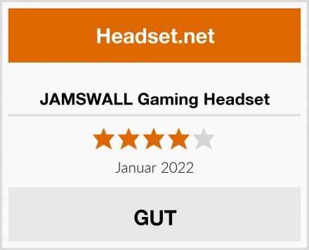 JAMSWALL Gaming Headset Test