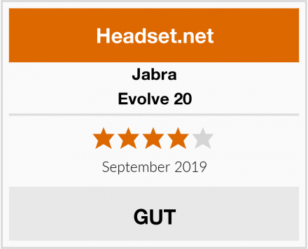 Jabra Evolve 20 Test