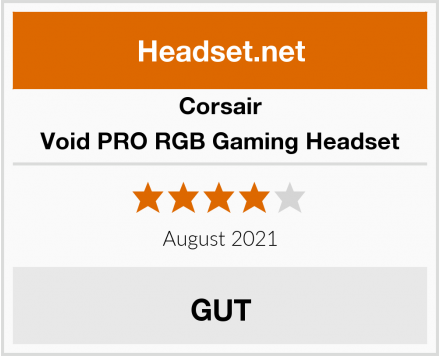 Corsair Void PRO RGB Gaming Headset Test