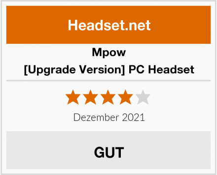 Mpow [Upgrade Version] PC Headset Test