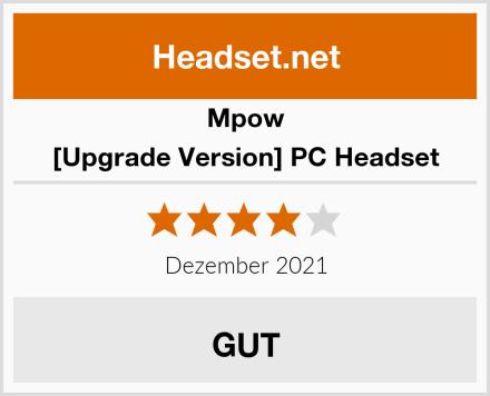 Mpow [Upgrade Version] PC Headset Test