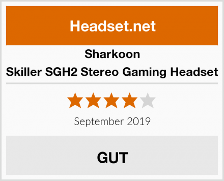 Sharkoon Skiller SGH2 Stereo Gaming Headset Test