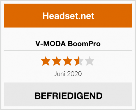 No-Name V-MODA BoomPro Test