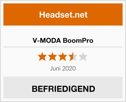 V-MODA BoomPro Test