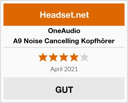 OneAudio A9 Noise Cancelling Kopfhörer Test