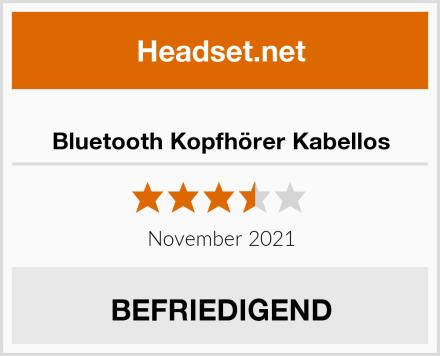 Bluetooth Kopfhörer Kabellos Test