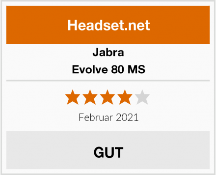 Jabra Evolve 80 MS Test