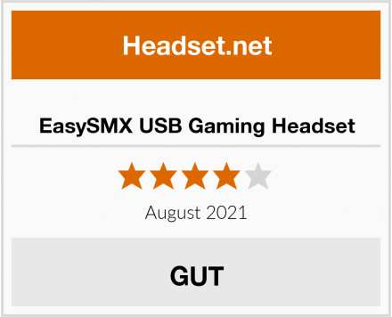 EasySMX USB Gaming Headset Test