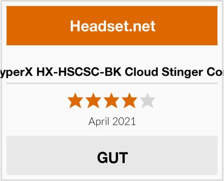 HyperX HX-HSCSC-BK Cloud Stinger Core Test