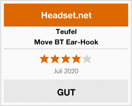 Teufel Move BT Ear-Hook Test
