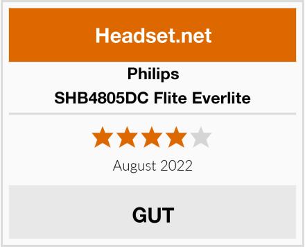 Philips SHB4805DC Flite Everlite Test