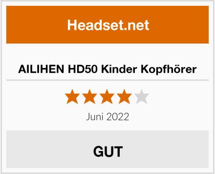 AILIHEN HD50 Kinder Kopfhörer Test