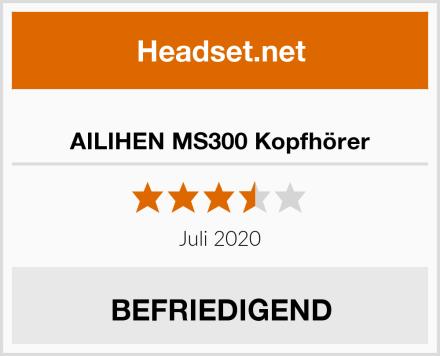 AILIHEN MS300 Kopfhörer Test
