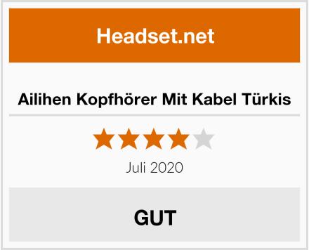 Ailihen Kopfhörer Mit Kabel Türkis Test