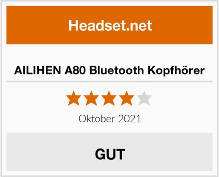 AILIHEN A80 Bluetooth Kopfhörer Test
