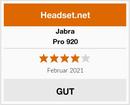 Jabra Pro 920 Test