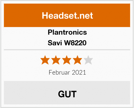 Plantronics Savi W8220 Test