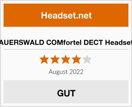 AUERSWALD COMfortel DECT Headset Test