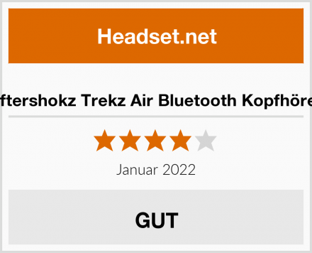 Aftershokz Trekz Air als Bluetooth Kopfhörer Test