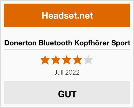 Donerton Bluetooth Kopfhörer Sport Test