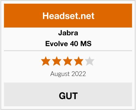 Jabra Evolve 40 MS Test