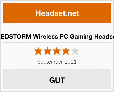 REDSTORM Wireless PC Gaming Headset Test