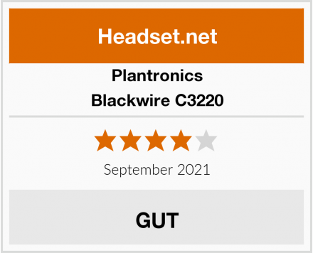 Plantronics Blackwire C3220 Test