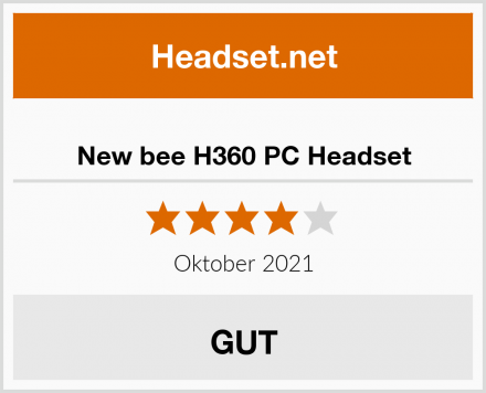 New bee H360 PC Headset Test
