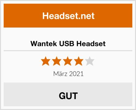 Wantek USB Headset Test